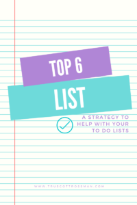 Top 6 Priority Strategy