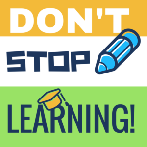 JUST KEEP LEARNING